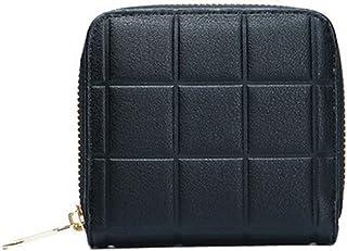 Mini Slim Wallet Femmes utiles Grille Multicard portefeuilles Porte-monnaie, A Blancho Bedding
