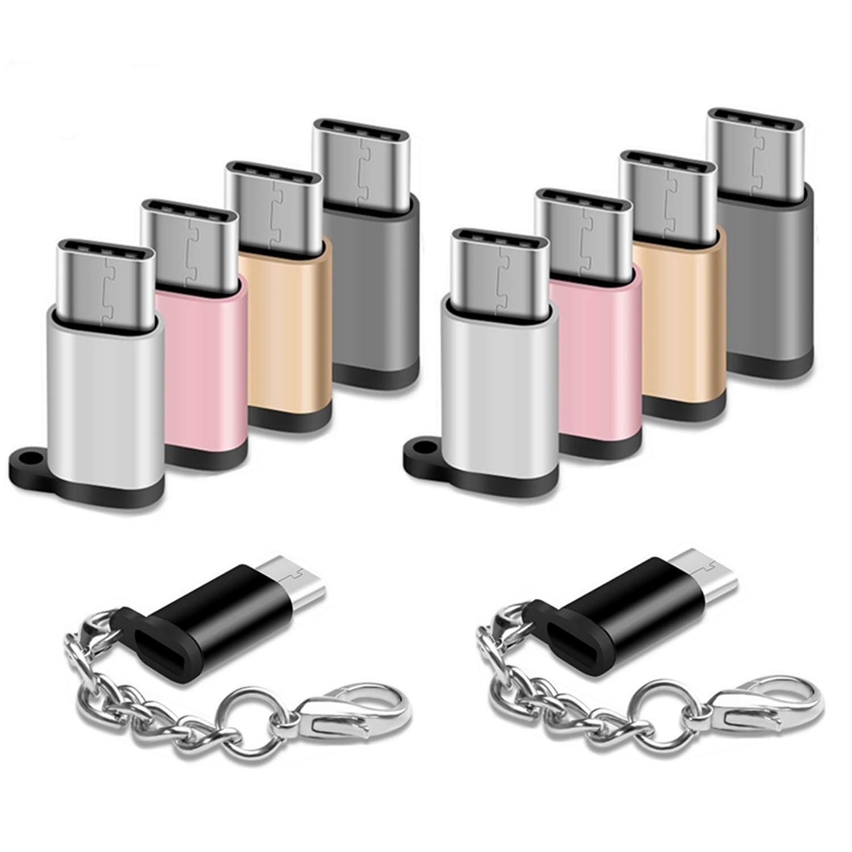Amazon.com: Adaptador USB tipo C, 10 unidades, USB-C macho a ...