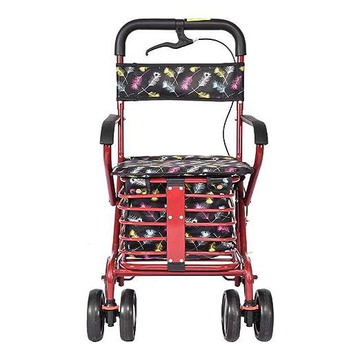 XXGI Carro De Compras para Ancianos Carro para Andadores Ancianos ...