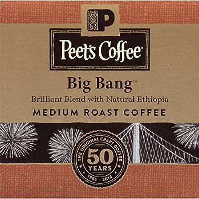 Peet's Coffee K-Cup Packs Big Bang Medium Roast Coffee, 10 Count