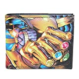 Marvel Comics Avengers Thanos Infinity Gaunlet Bifold Wallet
