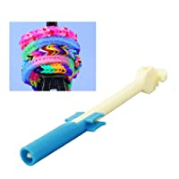 A-szcxtop Rainbow Loom groß Häkelnadeln U-Form Loom Haken-Werkzeug Kit DIY Armbänder Bands