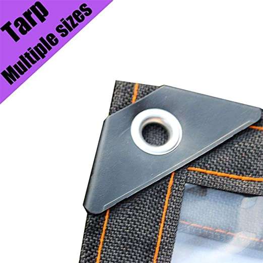 Zuzanny Lona Cubierta Impermeable Transparente Lona Resistente Resistente Al Polvo Impermeable Y Resistente Al Aceite Lona Antienvejecimiento 0.3 Mm-Los 1X2M