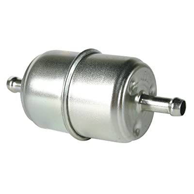 Hastings Filters GF1 In-Line Fuel Filter with Clamps and Hoses: Automotive
