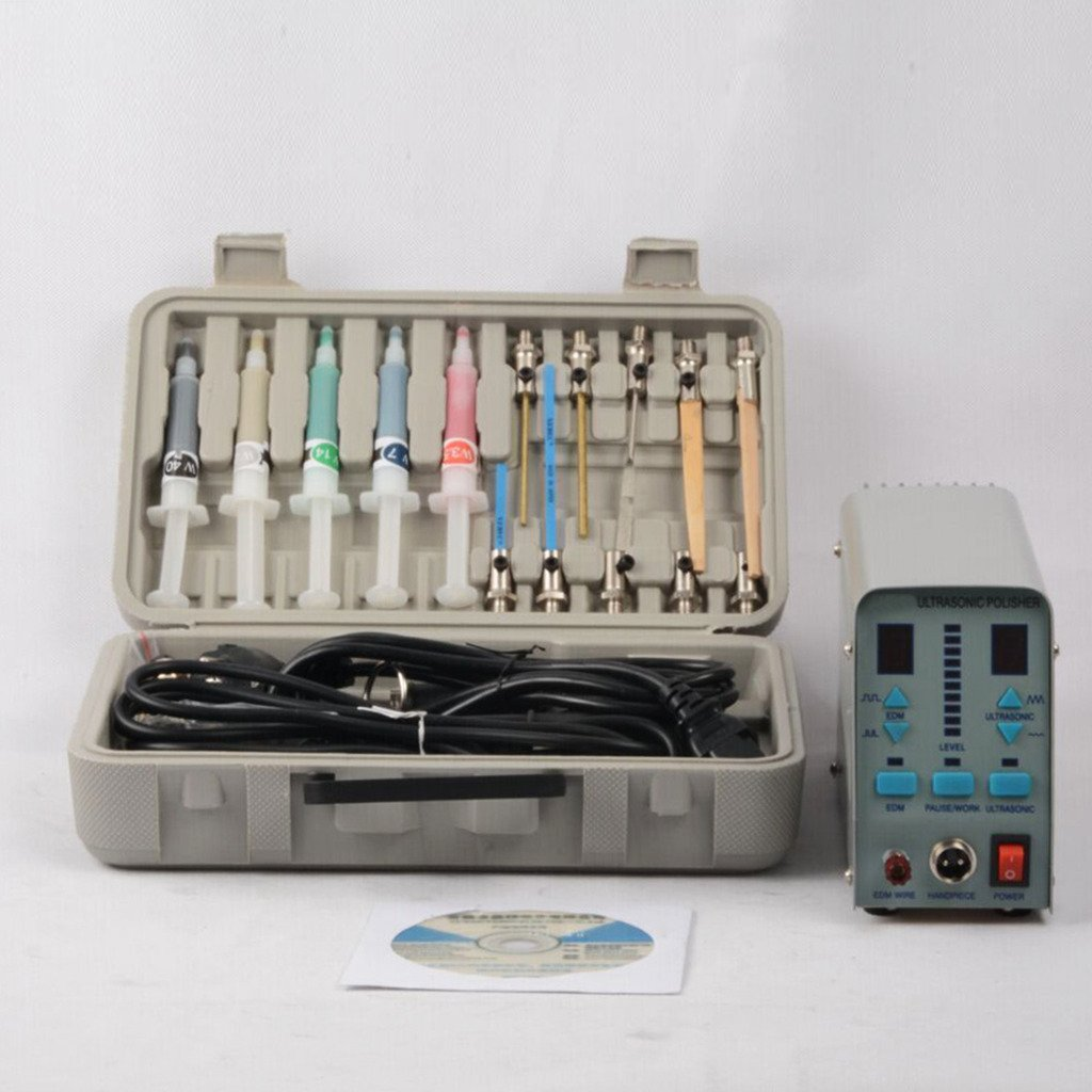 Wotefusi Ultrasonic Polisher Machine Professional Multi-function Mold Polishing Machine 110V
