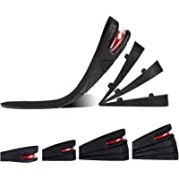 Height Increase Insole, 4-Layer Orthotic Heel Shoe Lift kit with Air Cushion Elevator Shoe Insole Lifts Kits Inserts for…