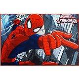 Marvel Ultimate Spider-Man Heat Transfer Accent Rug,...