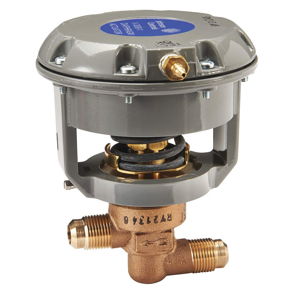 Brass Johnson Controls V-3766-1003 Pneumatic Flare Valve 1//2 Size 1//2 Size Johnson Controls Inc