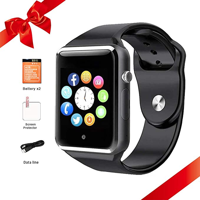 Amazon.com: Bluetooth Smart Watch for Android Phones ...