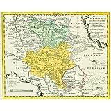 Historische Karte: Das Eichsfeld (Ober- und Untereichsfeld) 1759 (Plano) (Die Homannschen Erben (1724-1852) und ihre Landkarten)