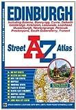 A-Z Edinburgh Street Atlas by Geographers' A-Z Map Company front cover