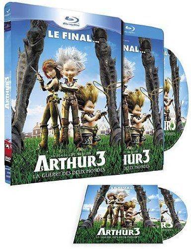 Arthur 3: The War of the Two Worlds [Region B]