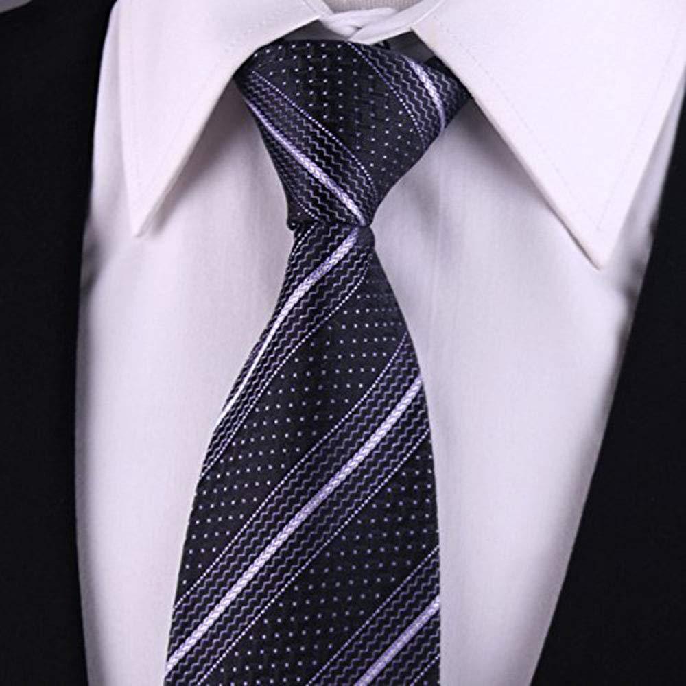MENEDERQ Traje de negocios de seda para hombre, negro: Amazon.es ...