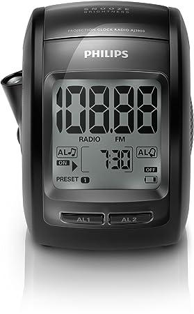 Philips AJ3800/12 - Radio (Reloj, Digital, FM, 87,5