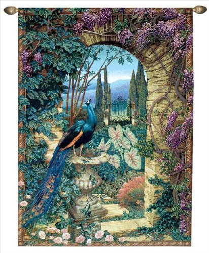 Manual The Secret Garden Grande Tapestry - nature decor