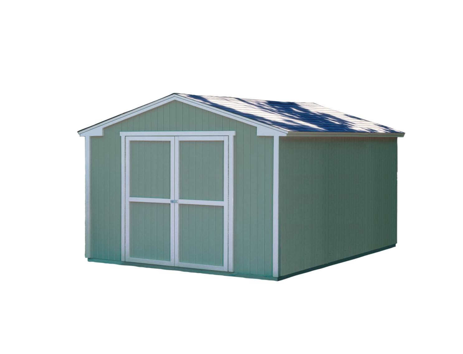 Amazon.com : Handy Home Products 10-Feet by 16-Feet Cumberland Shed ...