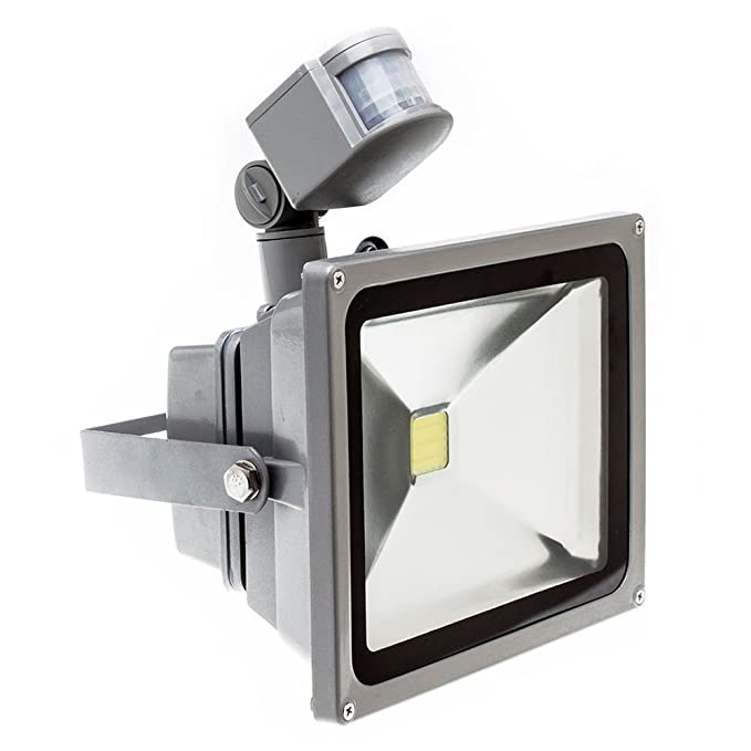 Las luces LED - SODIAL(R) 10W/30W/50W Blanco Calido LED Foco ...
