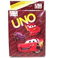 Mubco™ Disney/Pixar Cars 3 Characters Card Game for 2-10 Players  Pack of 108pcs Ages 7Y+
