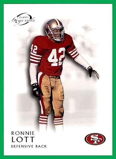 bcea7b2e7f1 2011 Topps Legends  72 Ronnie Lott HOF san francisco 49ers USC Trojans