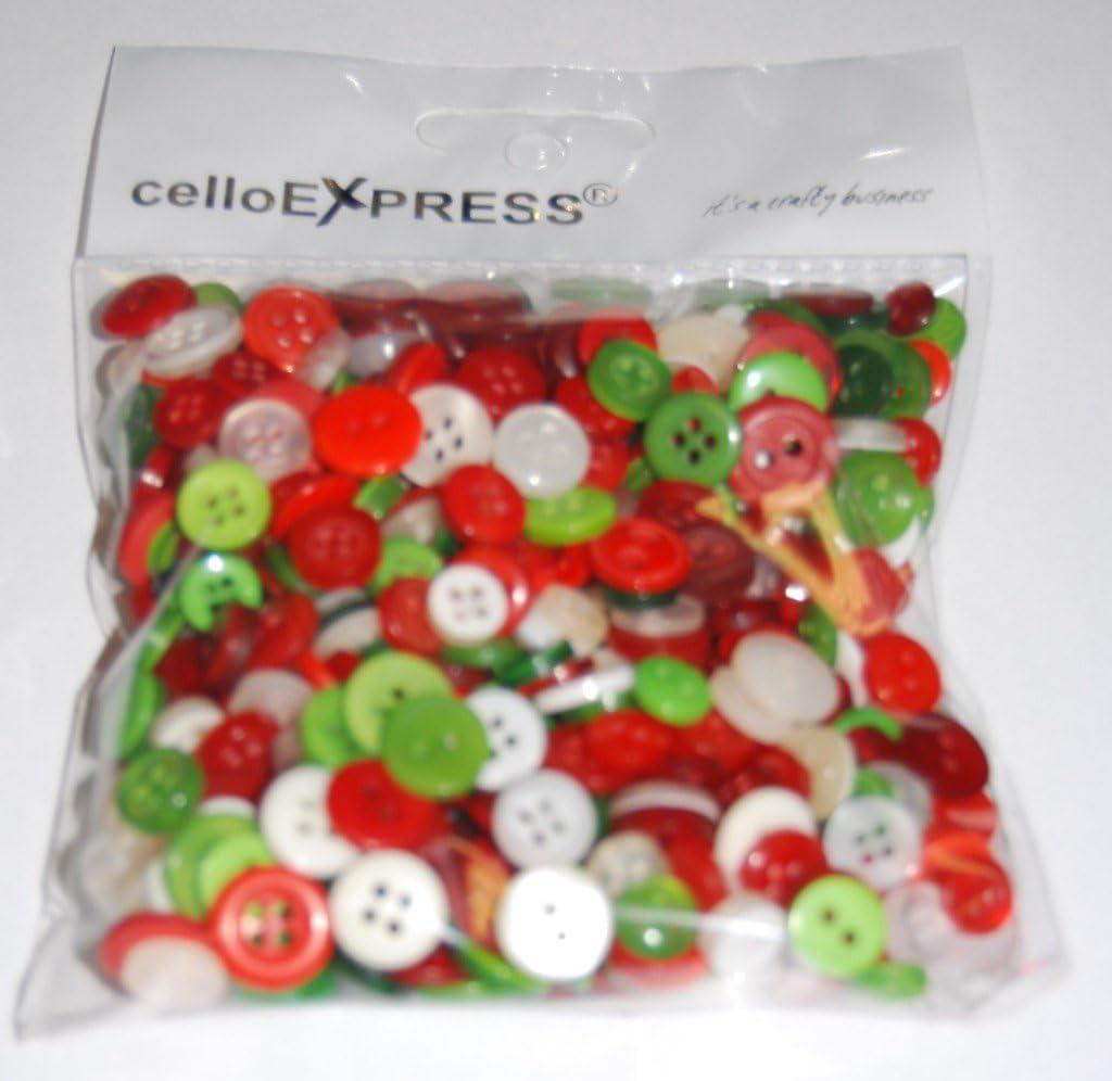 /Tiny Vert/ /Mixte Tiny Tailles ddiff/érents Tiny Vert Boutons pour couture et travaux manuels celloexpress Lot de 50/g/