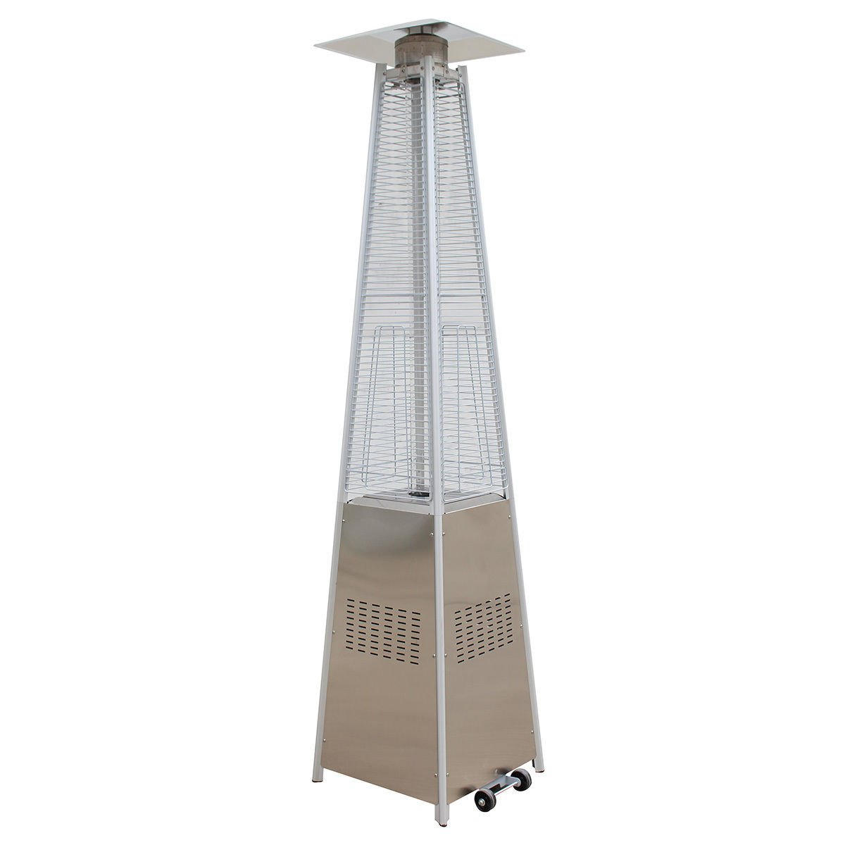 Elegant Amazon.com : Giantex 42, 000BTU Outdoor Pyramid Propane Glass Tube Dancing  Flames Patio Heater : Garden U0026 Outdoor