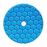 Chemical Guys BUFX115HEX5 Hex-Logic Quantum Polishing/Finishing Pad (Blue, 5.5 Inch)