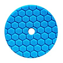Chemical Guys BUFX115HEX5 Hex-Logic Quantum Polishing/Finishing Pad (Blue, 5.5 Inch)