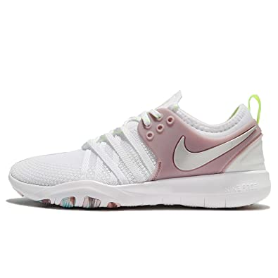 free shipping c80c8 071e9 ... new arrivals nike wmns free tr 7 baskets femme blanc white elemental  rose 47327 cad78