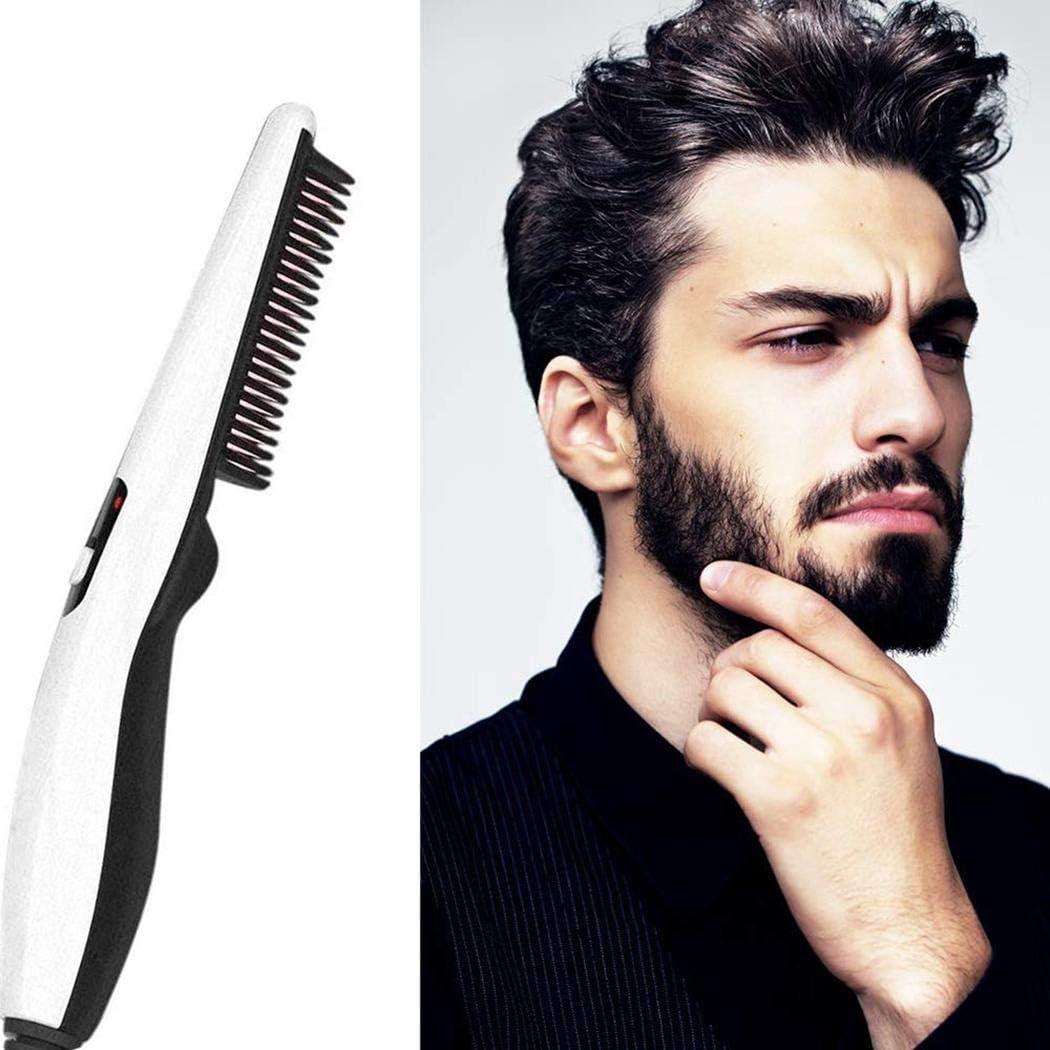 ROCONAT Uso doméstico Hombres Peine enderezadora de barba eléctrica Limpieza