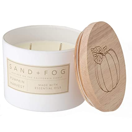 Fog THE WOODS 2-Wick Scented Candle 12 oz. Sand