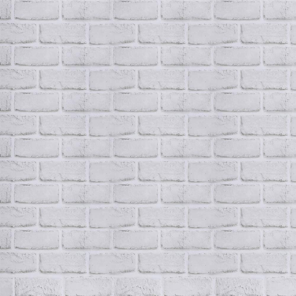 Home Décor 1 Rolls Gray White Brick Decorative Contact Paper Peel And Stick Self Adhesive Décor Decals Stickers Vinyl Art