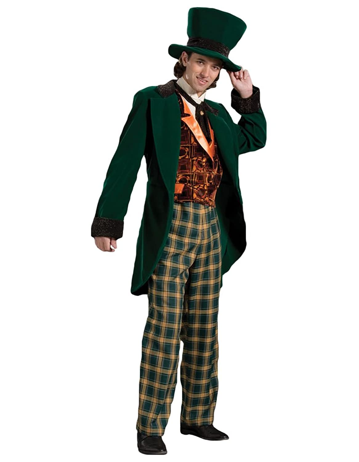 Victorian Men's Costumes Tabis Characters Mens Mad Hatter Theater Costume  AT vintagedancer.com