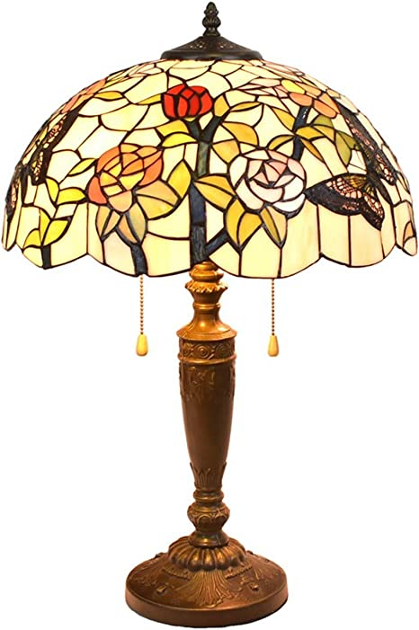 colorful flowers lighter Table lamp bedside light. flowers bedside lamp with multicolored flowers,small table lamp