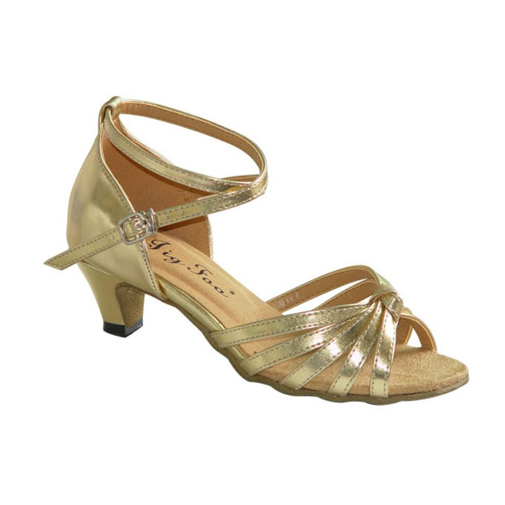 [Danse Chaussures]/ danse latine chaussures-A Longueur du pied=22.3CM(8.8Inch) GlbwI1