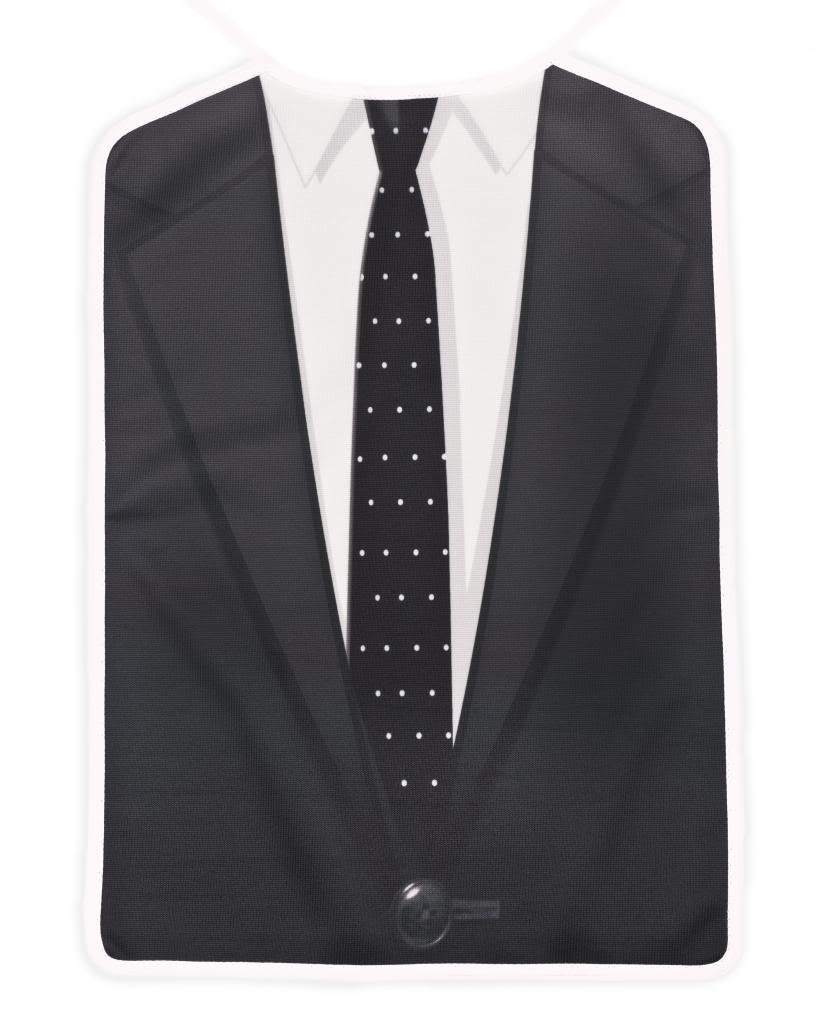 Barney Stinson's The Classic Brobib, as seen on How I Met Your Mother