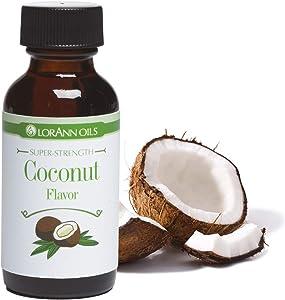 LorAnn Coconut Super Strength Flavor, 1 ounce bottle