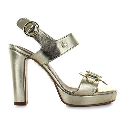 fb0a514dae091 Amazon.com  Love Moschino Women s Ja1621ac05ji0900 Gold Leather ...