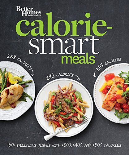 Better Homes and Gardens Calorie-Smart Meals: 150 Recipes for Delicious 300-, 400-, and 500-Calorie Dishes (Better Homes and Gardens Cooking) (Best Breakfast For Dinner Recipes)