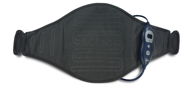 Solac CT8680 - Almohadilla terapéutica Helsinki Lumbar, 100 W, 6 niveles de temperatura, Tecnología Sensfort, autoapagado, conector extraíble, ...