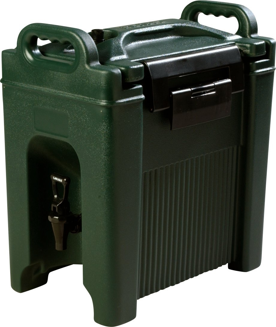 Carlisle XT250008 Cateraide Insulated Beverage Server Dispenser, 2.5 Gallon, Forest Green