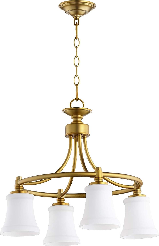 Amazon.com: quórum 4 cuatro Nook lámpara colgante de techo ...
