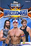 #3: 2017 Topps WWE Road to Wrestlemania HUGE Factory Sealed HANGER Box with 42 Cards includes (5) EXCLUSIVE RTW Cards! Look for Cards,Relics & Autographs of WWE Superstars Sting, Jon Cena,Ric Flair & More