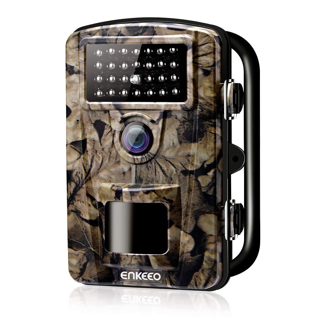 """ENKEEO PH700 Cámara de Caza 12MP, 1080P HD Trail Cámara, con IR LED para Visión Nocturna, IP 66 Resistente al Agua con 0.2s de Tiempo de Activación, 2.4"""" LCD Pantalla 2.4 LCD Pantalla"""