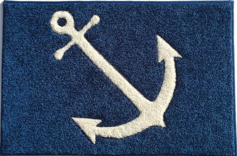 Anchor Mat, Welcome Aboard Mat and Boarding Mats, Carpet with Rubber Backing, 27