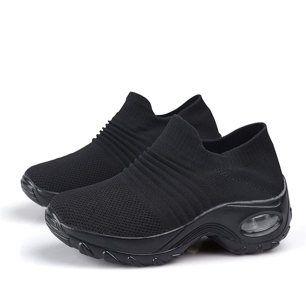 Leader Show Women's Slip-On Walking Shoes Comfortable Loafers Casual  Non-Slip Nursing Shoes Fashion Platform Sneakers