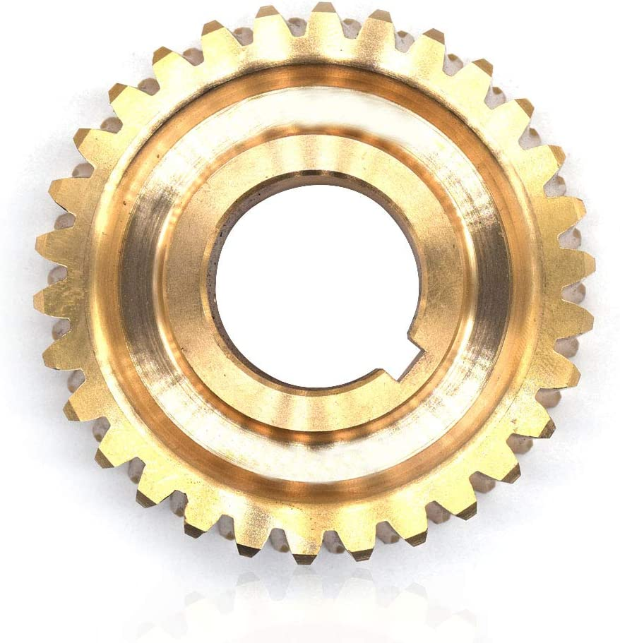 Worm Gear 30 Teeth by Ohoho - Compatible with MTD GW-2675 - Replaces GW-2675, GW-2654 - Fits Troy-Bilt: Horse Silver Anniversary, Horse-OPC (Bronze)