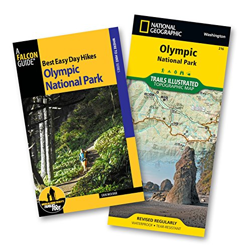 Best Easy Day Hiking Guide and Trail Map Bundle: Olympic National Park (Best Easy Day Hikes Series) (Fishing Guide Washington State)