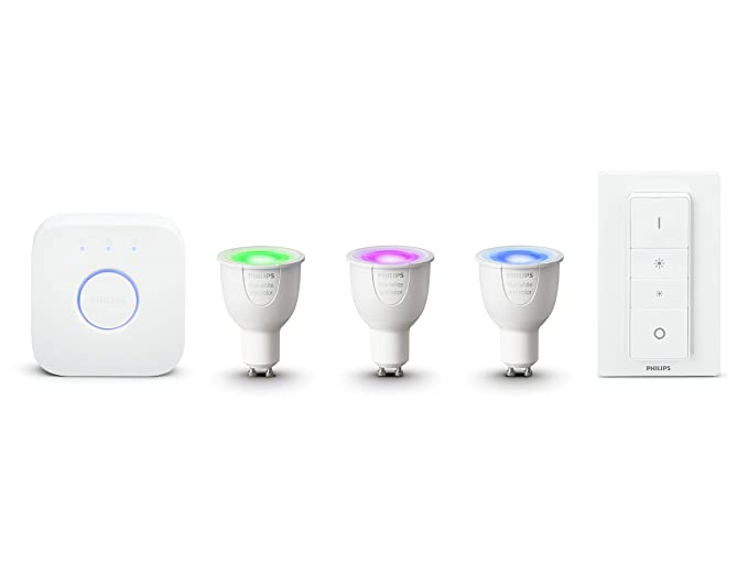 Démarrage Ambiance White X Avec Variateur And De 3 InclusFonctionne Kit Alexa Color Hue Philips Gu10 6 5 Wpont Et Interrupteur qSUzMVp
