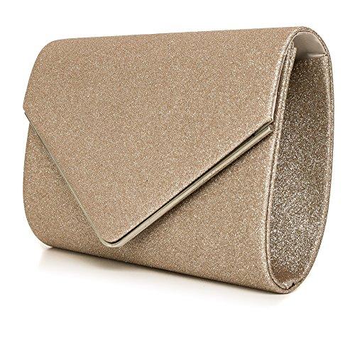 Perez Handbag For Woman Brown Beige Vincent Satin TFOndqgg