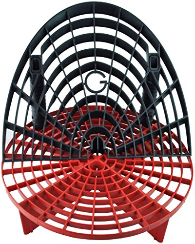 Grit Guard The Insert with Washboard Combo Pack (Black/Red) ()